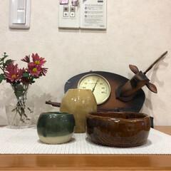 陶芸教室 2度目の陶芸教室。 花瓶(大&小)と植木…