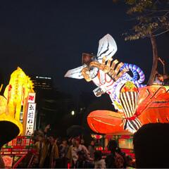 ねぷた祭り/弘前/浅草/秋 きょう11/4の浅草は「弘前ねぷた祭り」…