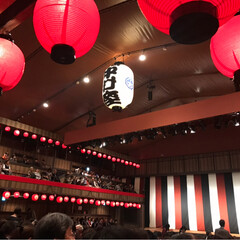 歌舞伎/浅草/平成中村座/猫 昨日の平成中村座、中の写真も! 劇場内は…