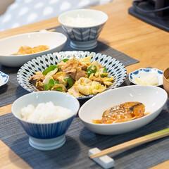 おうちごはん部/料理/献立/晩ごはん/家庭料理/夕食 ある日の晩ごはん ・回鍋肉 ・秋鮭の甘酢…
