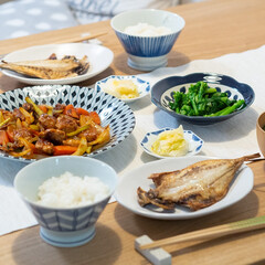 おうちごはん部/料理/献立/夕食 ある日の晩ごはん。 ・酢豚 ・菜の花のお…