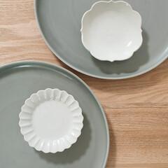 KIHARA/和食器/食器/有田焼 KIHARAのENシリーズプレートと古白…