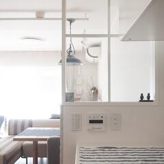 インテリア/リノベーション/キッチン/内窓/おうち キッチンからみた眺め。 リノベーションし…