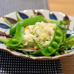 おうちごはん部/料理/献立/ポテサラ ある日の晩ごはんのサラダは自家製ポテサラ…
