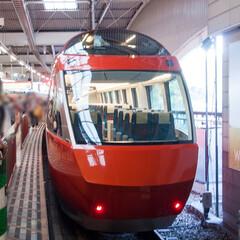 鉄道/旅の記録/旅行/箱根/ロマンスカー/旅 箱根に行く度に乗るロマンスカー。 201…