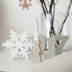 ニトリ/クリスマス/クリスマスデコレーション/ツリー 今年のわが家のなんちゃってクリスマスコー…