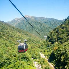 旅/旅行/谷川岳ロープウェイ/観光/群馬 9月に群馬県にある谷川岳ロープウェイに乗…