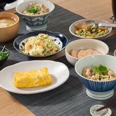 炊き込みごはん/お昼ごはん/おうちごはん/手作りごはん/リメイクレシピ/おせち/... お正月気分も抜けつつある3日目のお昼ごは…