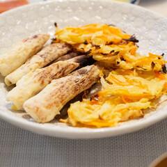 おうちごはん部/料理/献立/夕食/家庭料理 ある日の揚げない天ぷら。大失敗しました……