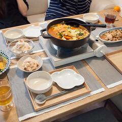 ホームパーティ/おもてなし/鍋料理/手作りごはん/おうちごはん/ごはん 週末はわが家でホムパでした♪アラフィフ婦…