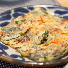 美濃焼 和食器 琉球るり唐草 5.0皿 φ15.2×2cm 業務用 どんぶり 飲食店 プロユース 皿(皿)を使ったクチコミ「ある日の晩ごはんの副菜。 あと1品欲しい…」