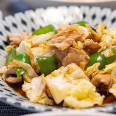 おうちごはん部/料理/献立/夕食/家庭料理/中華料理 ある日の晩ごはんのメインは回鍋肉。 珍し…