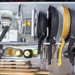 【24cm浅型 IH】 健康フライパン 24cm×5.3cm IH&直火用   ルール(フライパン)を使ったクチコミ「我が家のフライパンはコンロ下の深い引き出…」