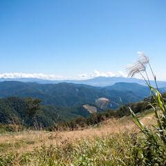 旅/旅行/観光/天神峠/群馬/景色 群馬旅行記録。天神峠の展望台からの眺め。…