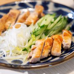 おうちごはん部/料理/献立/鶏肉 北京ダックが食べたくなって、鶏肉のなんち…