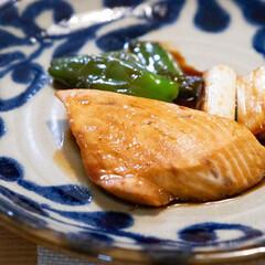 おうちごはん部/料理/献立/魚料理/家庭料理 ある日のメインはメカジキの照り焼き。 長…