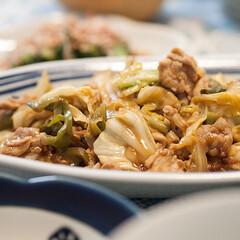 わたしのごはん/おうちごはん部/料理/中華料理 炒め過ぎたホイコウロウです。 ダンナが残…