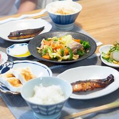 おうちごはん部/料理/献立/晩ごはん/家庭料理/夕食 ある日の晩ごはん ・さわらの味噌漬け ・…