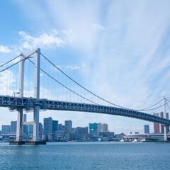 水上バス/東京観光/お台場/晴海/レインボーブリッジ/風景/... お台場から晴海まで水上バスに乗って観光〜…