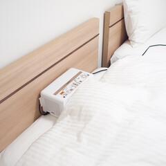 冬の1枚/布団乾燥機/至福の時間/ベッドルーム/冬 冬の1枚。 冬は寝る前に布団乾燥機をかけ…