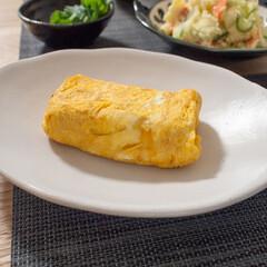 卵焼き/おうちごはん/だし巻き卵/手作りごはん/家庭の味/ごはん なんてことない卵焼きですが、卵焼きってお…