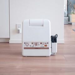 象印 布団乾燥機 スマートドライ ホワイト RF-AC20-WA | 象印(布団乾燥機)を使ったクチコミ「象印の布団乾燥機スマートドライはマットも…」