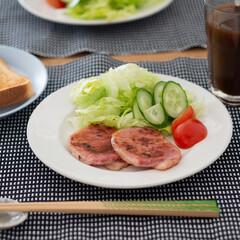 おうちごはん部/料理/献立/朝食 ある日の朝ごはん。 実家からお歳暮のおす…