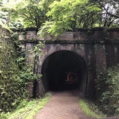 ハイキング/碓氷峠/群馬/フォロー大歓迎/旅行/風景/... トンネルの向こうには何が..,  毎年?…