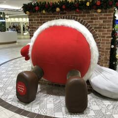 サンタクロース/池袋/フォロー大歓迎/クリスマス/おでかけ 池袋で見つけた巨大なサンタクロース! こ…