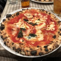ナポリマニア/渋谷/東京/マルゲリータ/ピザ/フォロー大歓迎/... 昨日のランチはピザでしたー(マルゲリータ…
