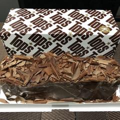キングスチョコレートケーキ/チョコレートケーキ/ケーキ/トップス/Tops/フォロー大歓迎/... 昨日のおやつ! Topsの「キングスチョ…