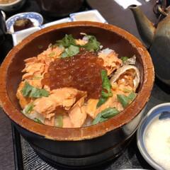 いくら/鮭/はらこ飯/仙台/秋/グルメ/... 仙台で食べた「はらこ飯」です! 秋冬の限…