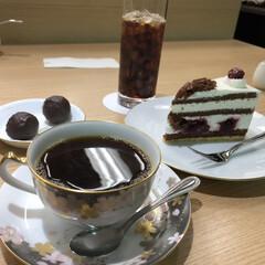 ケーキ/コーヒー/大阪/カフェ/LIMIAおでかけ部/フォロー大歓迎/... 大阪でのティータイム!  本格的なコーヒ…