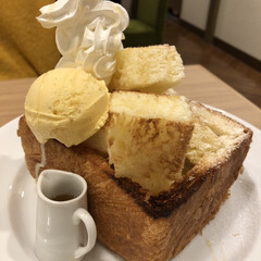 MIYABI/カフェ/パン/ハニートースト/神保町/東京/... 神保町の「MIYABI」で食べたハニート…
