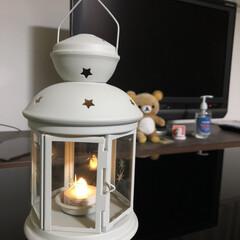 ランタン/照明器具/オシャレ/ルームライト/IKEA 正解編です笑  答えはIKEAのランタン…