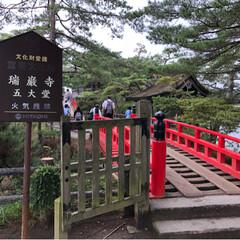 松島/仙台/宮城/おでかけ 仙台方面、松島の五大堂! 天気は微妙だっ…