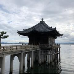 寺/浮御堂/琵琶湖/滋賀/風景/おでかけ/... 日本一の湖である琵琶湖にある絶景スポット…