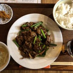 ランチ/中華/フォロー大歓迎/わたしのごはん/グルメ/フード 今日のランチ! 安くてスープやデザートが…(1枚目)