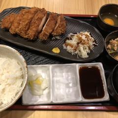 渋谷/東京/ランチ/鶏カツ/フォロー大歓迎/ごはん/... 今日のランチは鶏カツ! またもや食べ過ぎ…