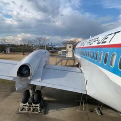 飛行機/航空科学博物館/成田空港 成田にぶらり✈️ 飛行機見たくて成田空港…