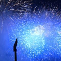 イベント/夏休み/花火大会 地元の花火大会でしたが…新築祝いで友人を…