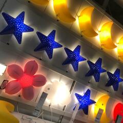 イケア/照明/子供/IKEA イケアにて家具見たり👀✨  照明可愛過ぎ…