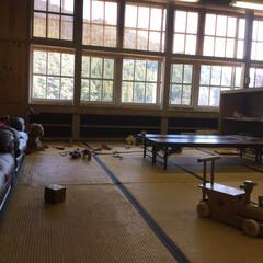 遊具/古民家/LIMIAおでかけ部/フォロー大歓迎/建築/おでかけワンショット 隣りの部屋は、お子様または、グループで食…