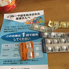 インフルエンザ/ゾフルーザ錠 インフルエンザにかかってしまった!寒気が…(1枚目)