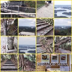 ドライブ/近畿鉄道🚃/ヒノキ材/横山展望台/マリンランド/机/...  こんばんは。伊勢志摩へドライブに行って…