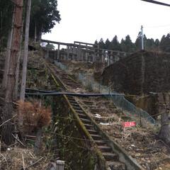 ドライブ/歴史/あけおめ/フォロー大歓迎/冬/おでかけ/... 紀州鉱山選鉱場 杭道で採掘した銅などを選…
