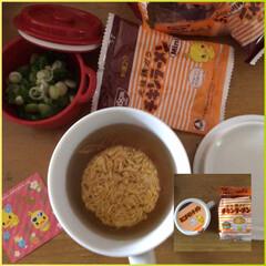 日清食品 チキンラーメンMini 10685 3食パック 1セット(インスタントラーメン)を使ったクチコミ「小腹が空きました。防災グッズの中にダイソ…」(1枚目)