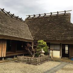 歴史探検/2018/フォロー大歓迎/旅行/風景 昔、お殿様を守る護衛が、住んでいた武士の家