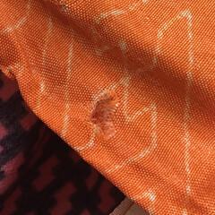 着物を解く/羽織/私ができるSDGs/SDGs/手づくり楽しい!/着物リメイク/... 【着物リメイク】 羽織を解いています。「…(2枚目)