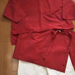 チュニック風/ヒップカバー/Tブラウス/メルカリ/雨コート/手づくり楽しい!/... ☆着物リメイク☆Tブラウスとヒップカバー…(2枚目)